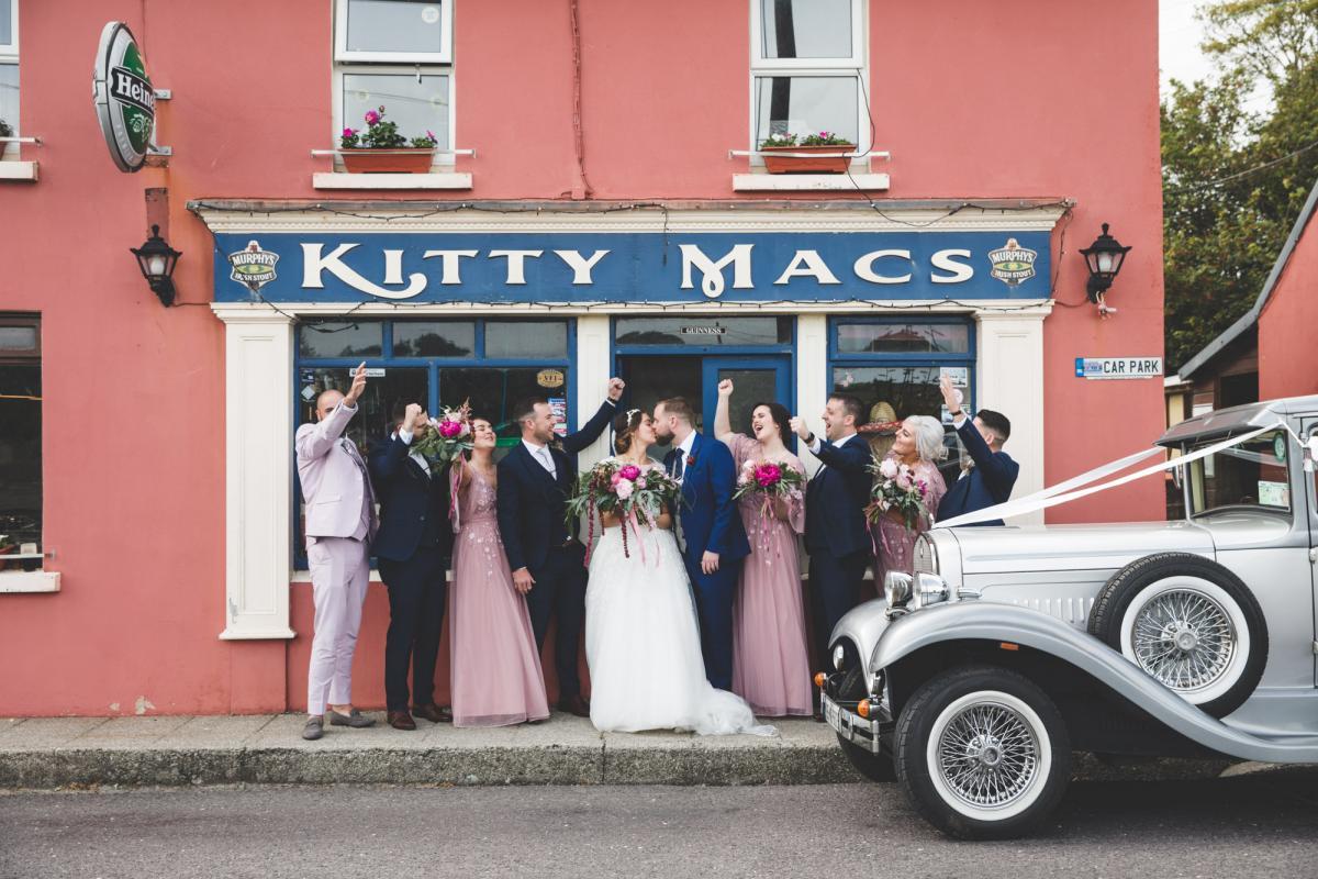 Cork wedding vintage car